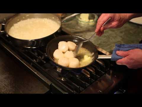 Recipe for Caviar-Truffle Risotto & Scallops : Cookin' It Up!