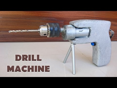 How to Make a Drill Machine at Home