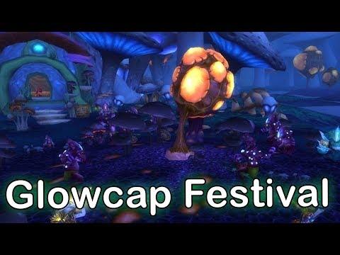 Zangarmarsh Glowcap Festival Micro Holiday | World of Warcraft Legion Holiday Event [WoW Legion]