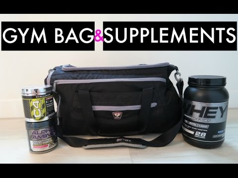 My Gym Bag and Supplements