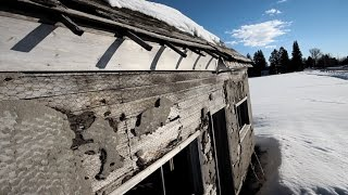 Why is this abandoned house so disturbing?  Try not to watch till the very end.