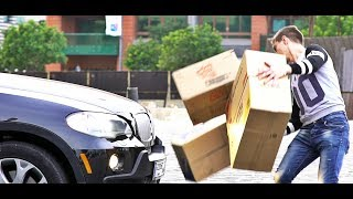 Invisible Boxes Prank
