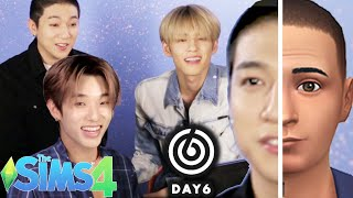 """K-pop Stars 'DAY6' Make Each Other In """"The SIMS 4"""""""