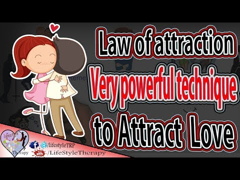 8 steps to Attract a Specific Person using the laws of attraction | animated video