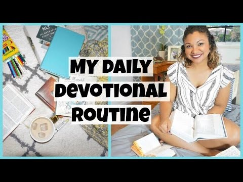MY MORNING DEVOTIONAL ROUTINE + HOW TO SPEND TIME WITH GOD