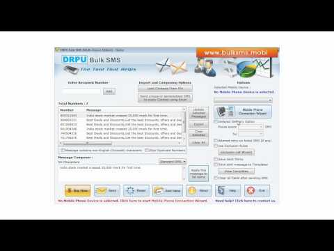 Send multiple bulk group sms sending software send free bulk text sms how to send bulk sms gsm