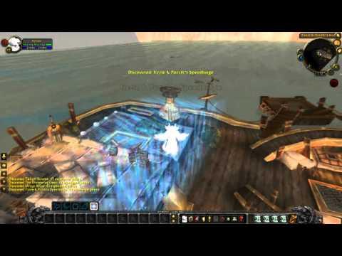 Cataclysm Beta Flying in Azeroth