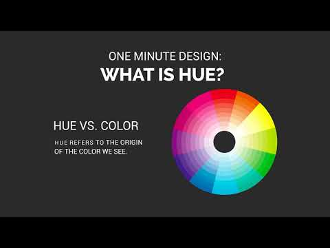 One Minute Design: What Is Hue?
