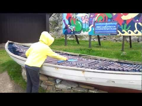 Playing A Xylophone Boat - Belmont Unst