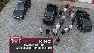 October 6th - 8th Craftsman Auto Reconditioning Seminar