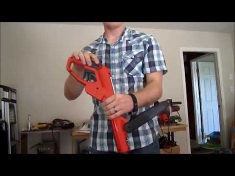 Black and Decker 20v electric weed eater