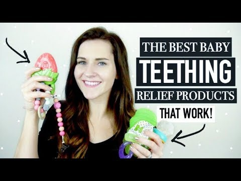 BABY TEETHING RELIEF || TOP 5 NATURAL TEETHERS FOR BABIES