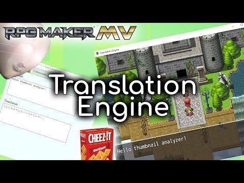 Translation Engine Plugin - RPG Maker MV