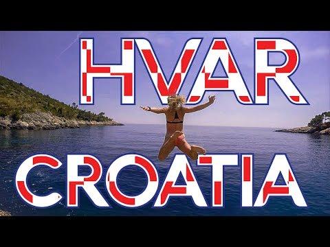 Hvar Croatia Vlog - Cliff Jumping Croatia - Backpacking Europe