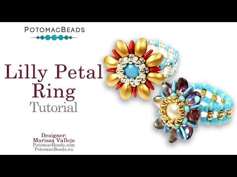 Lilly Petal Ring (Tutorial)