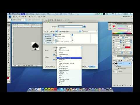 Web Design Tutorial - Making a Favicon (ICO) in Photoshop