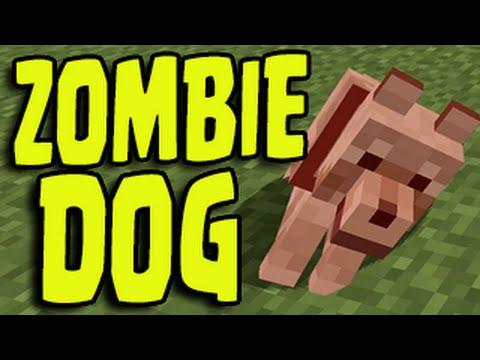 Minecraft PS3, PS4, Xbox, Wii U - ZOMBIE DOG / WOLF Glitch!