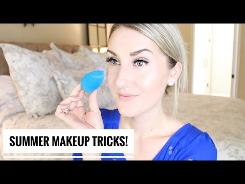 MAKEUP THAT ACTUALLY LASTS IN THE SUMMERTIME! TUTORIAL