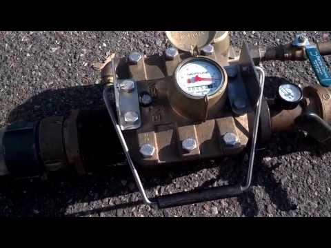 Neptune Water Meter Testing