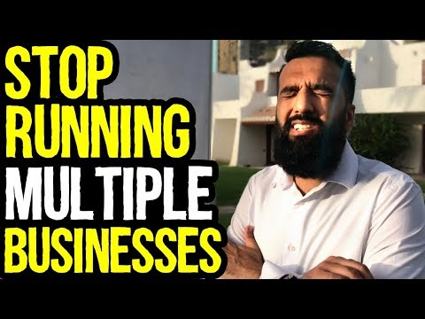 Stop Running Multiple Businesses | Make More Money | Azad Chaiwala Show