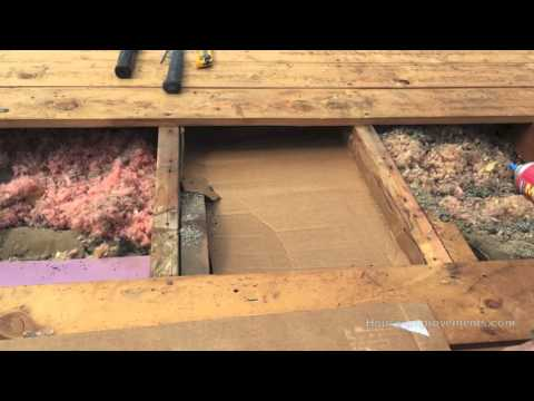 How To Increase Attic eave Air Ventilation