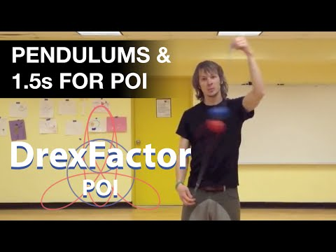 How to do Pendulums and 1.5s: Beginner Poi Spinning Tutorial