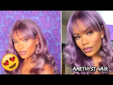 How To: Lavender/Amethyst Inspired Hair