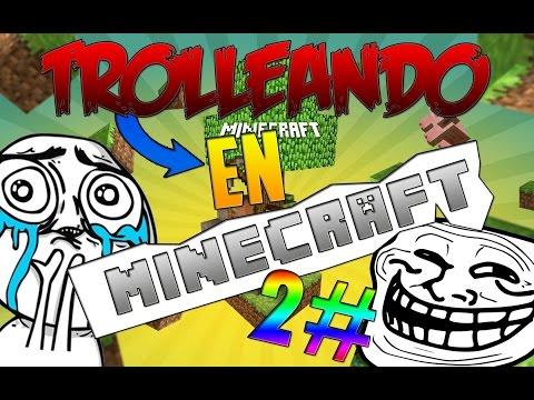 TROLLEANDO A MI AMIGO-MINECRAFT PS4-HACKERS EN MI PS4