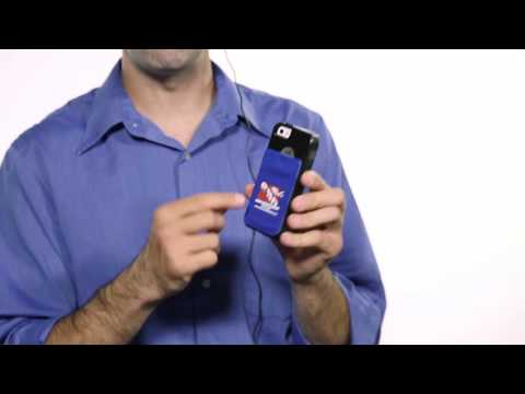 Lycra Cell Phone Wallet