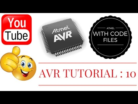 AVR TUTORIAL 10 : HOW TO INTERFACE DC MOTOR USING L293D( WITH CODE FILE) - 2017