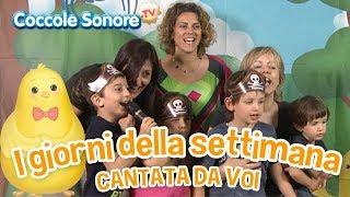 I giorni della settimana - Cantata dalle famiglie italiane - Canzoni per bambini di Coccole Sonore
