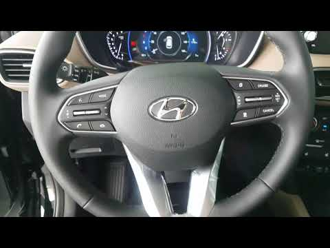 2019 Hyundai Santa Fe ultimate walk around.