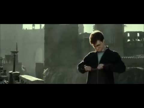 Harry breaks the elder wand