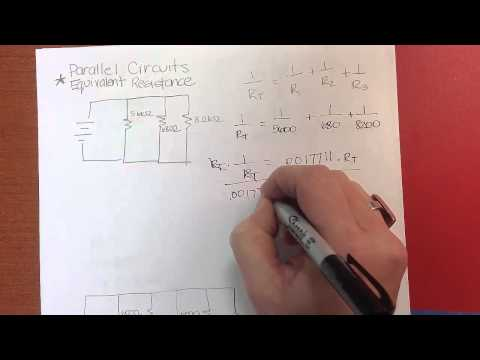 Calculating Equivalent Resistance for a Parallel Circuit