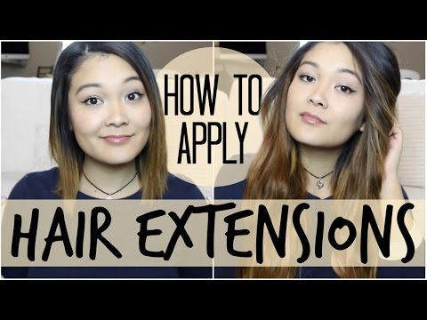 How To Blend Extensions with Short Hair