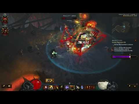 Diablo 3: The Diversity Of Uncommon Builds (Team 12/12 Grift 55 v2.4.1)