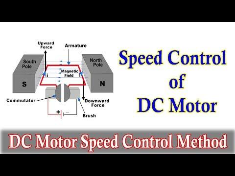 Speed Control of DC Motor - DC Motor Speed control