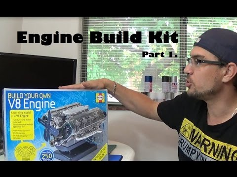 Engine Build (Part 1) - Haynes Model V8 Engine