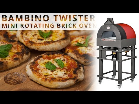 Bambino Twister - Mini Commercial Rotating Pizza Oven