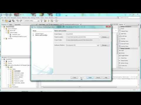 How to Generate a CRUD App on NetBeans RCP