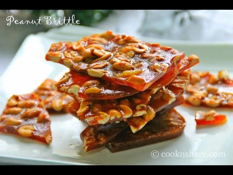 Peanut Brittle - 3 Ingredients