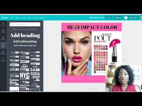 How to Create Eye Catching Marketing Flyers using Canva