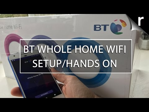 BT Whole Home WiFi setup and review