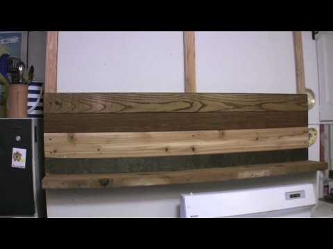 Get Nested with Meg Allan Cole: How to Make an Awesome Wall Treatment with Reclaimed Wood
