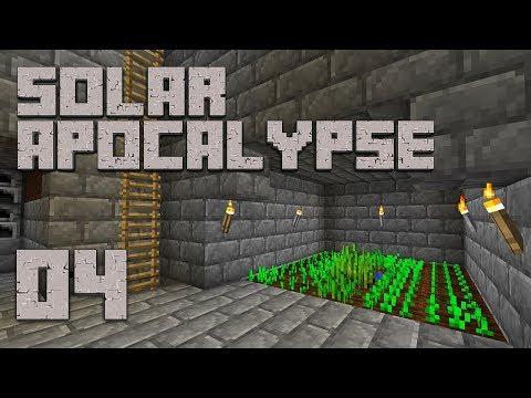 ►Solar Apocalypse LP: GREEN THUMB!   Ep. 4   Modded Minecraft Survival◄