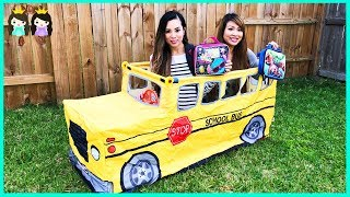 Wheels on the Bus School Songs for Kids | Pretend Play with Princess ToysReview