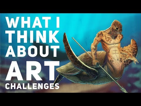 What I Think About Art Challenges