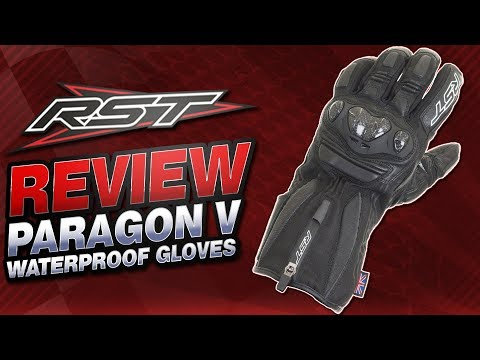 RST Paragon V Waterproof Gloves Review | Sportbike Track Gear