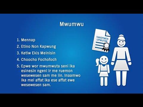Mwumwu, Chon Tumwun, me POA (Chuukese Adoption)