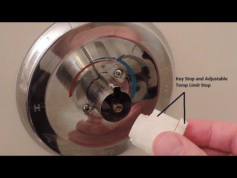 Repair Shower faucet: Moen Posi-Temp Shower faucet ( 1222 B )